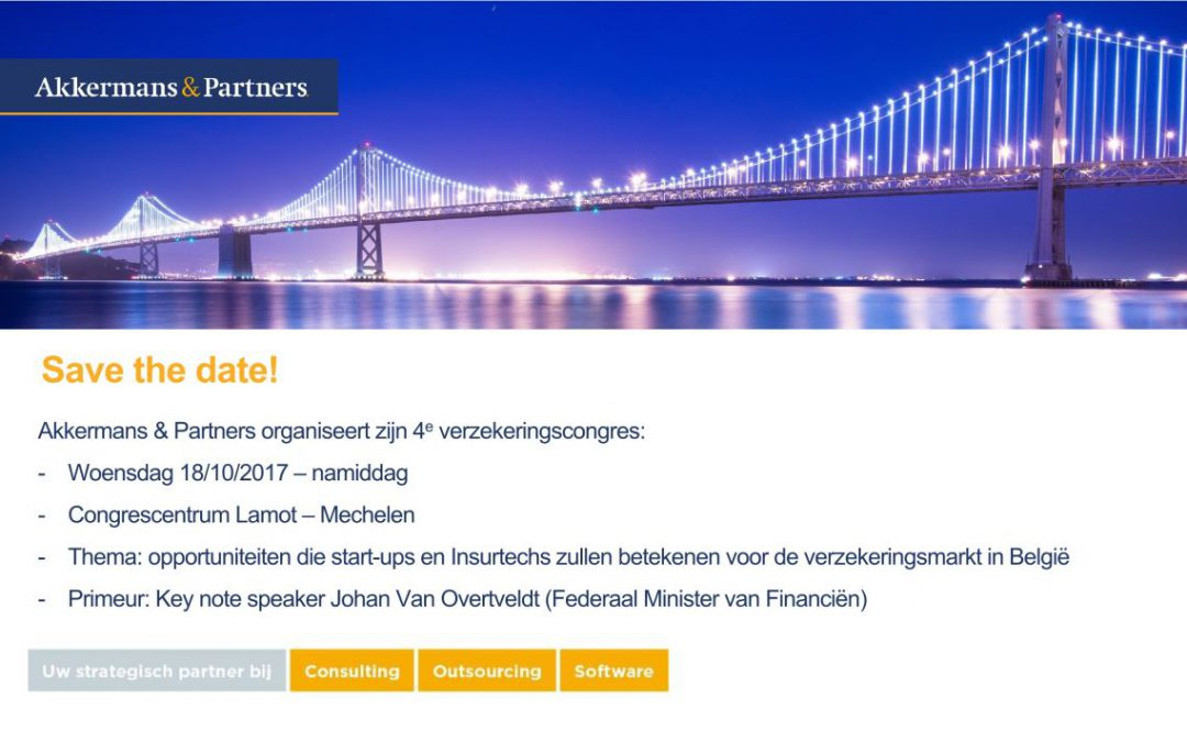 Verzekeringscongres Akkermans & Partners 18 oktober 2017