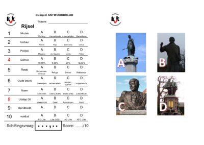 mini-Busquiz Rijsel - Vragen en antwoordblad1